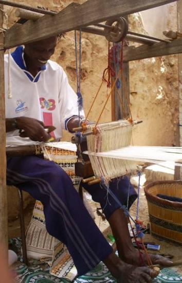 Assane Diop : master in weaving