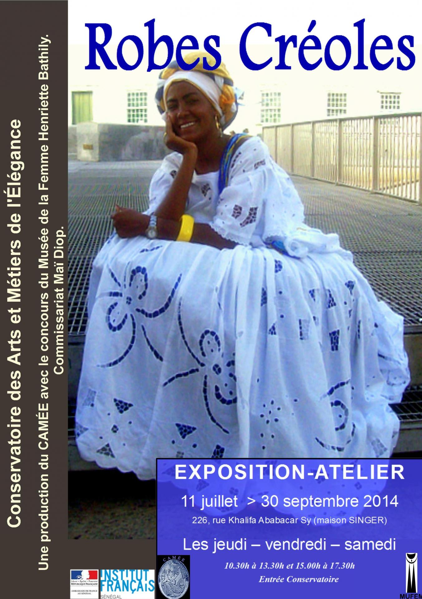 Affiche robe creole ok
