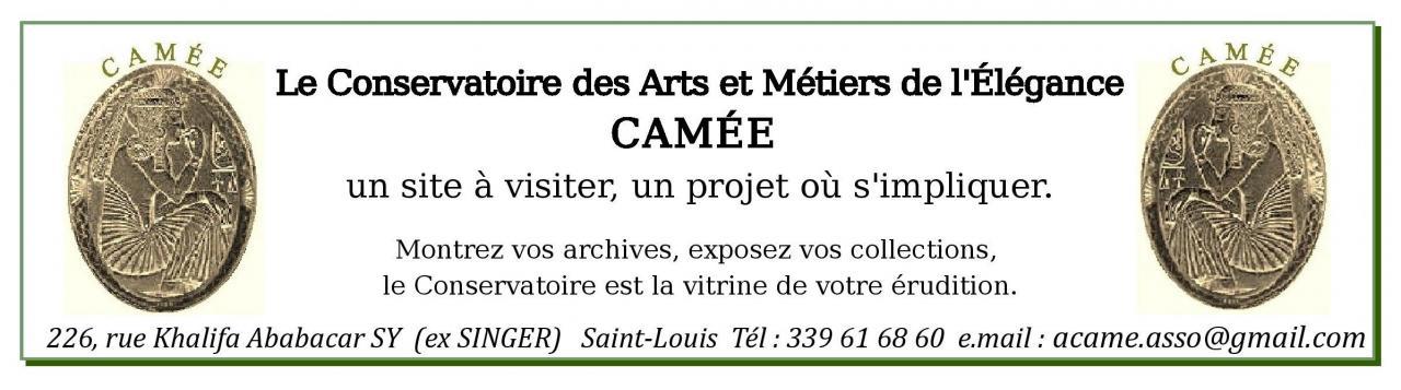 Le Conservatoire des Arts et Métiers de l'Élégance